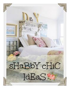 Ideas: Decorating a Shabby Chic Bedroom - French Country Style