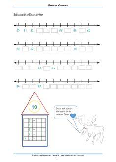 #Zahlenverständnis lernen, verliebte Zahlen wiederholen, Rechnen bis 100 #Kinder #fördern #Grundschule #Mathe