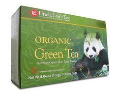 Uncle Lees Tea Legends of China Organic Green Tea 100 Bags - http://teacoffeestore.com/uncle-lees-tea-legends-of-china-organic-green-tea-100-bags/