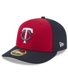 f598dae908a New Era Minnesota Twins Low Profile Batting Practice Pro Lite 59FIFTY Fitted  Cap - Red Navy 6 7 8