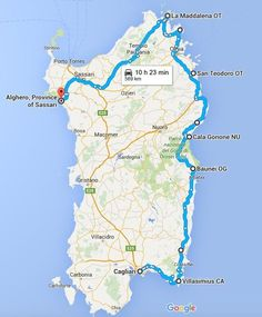 Que faire en 2 semaines en Sardaigne