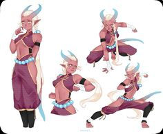 Tiefling female monk>>>>>w h e r e s t h e h o o v e s Fantasy Character Design, Character Creation, Character Drawing, Character Design Inspiration, Character Concept, Concept Art, Character Ideas, Dungeons And Dragons Characters, Dnd Characters