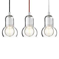 Bulb SR1 Pendelleuchte - transparentes Kabel - &Tradition