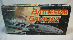 Battlestar Galactica Board Game from Parker Brothers (1978)