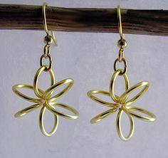 Keeping Things Simple...: Tutorial: Spring Flower Earrings