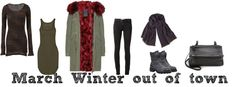 March Winter out of town #Lookoftheweek