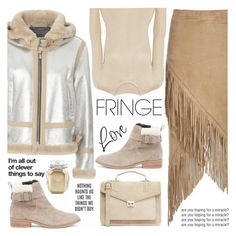 """Shimmy Shimmy: Fringe"" by shoaleh-nia ❤ liked on Polyvore featuring Barbara Bui, J.Lindeberg, Nightwalker, Victoria's Secret, Emilia Wickstead and Sole Society"
