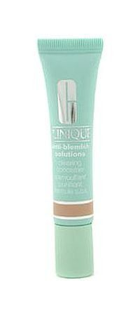 Clinique Acne Solutions Clearing Concealer - Shade 02 by Clinique. $24.49. Medicated concealer helps clear and prevent blemishes. Gentle, soothing formula provides natural-looking coverage as blemishes heal. In three skin tone shades to wear alone, under makeup or for touch-ups. Plus, a green tint to visually correct redness. Oil free.. Medicated concealer helps clear and prevent blemishes. Gentle, soothing formula provides natural-looking coverage as blemishes h...
