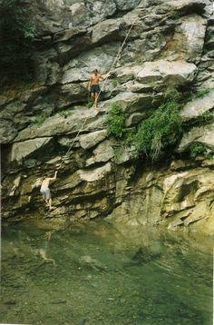 Waterfall - moriani plage Corsica