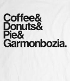 Twin Peaks Shirt Garmonbozia