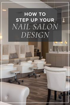 How do you create a memorable salon experience? Enlisting the help of someone who has the eye for design is a great starting point. Nail Salon Design, Salon Interior Design, Spa Design, Salon Style, Beauty Bar, The Help, Salons, Create Yourself, How To Memorize Things