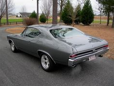 1968 CHEVROLET CHEVELLE SS 396 2 DOOR COUPE RE-CREATION