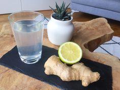 Der Immun-Boost: Heißes Wasser mit Ingwer und Zitrone