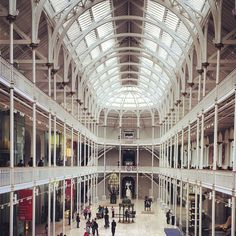 Our diverse collections will take you on a journey of discovery through the history of Scotland, the wonders of nature and world cultures - all under one roof. Edinburg Scotland, Scotland Trip, Psy Art, Free Museums, Museum Displays, Edinburgh Castle, Rooftop Garden, Psychedelic Art, Surreal Art