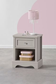 Buy Amelia 1 Drawer Bedside Table from the Next UK online shop Painted Bedside Tables, 3 Drawer Bedside Table, Childrens Bed Linen, Childrens Bedroom Furniture, King Size Storage Bed, Bed Storage, Shelving Design, Modular Shelving, Hanging Rail