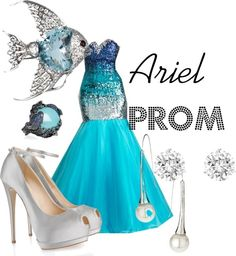 sleeping beauty homecoming dresses | Ariel Prom Dress Ariel prom by princess-rachael