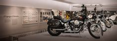 Harley-Davidson Museum® | Harley-Davidson USA Open everyday 10:00 a.m. - 6:00 p.m. and until 8:00 p.m. on Thursday  Harley-Davidson Museum® 400 W Canal Street Milwaukee, WI 53201 1-877-HD-MUSEUM or 414-287-2789