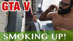 Grand Theft Auto V | Smoking Up! Game Play