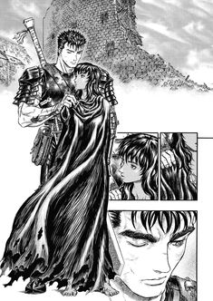 Kentaro Miura, Anime Pictures, Old School Cartoons, Manga Artist, Fantasy Warrior, Good Manga, Manga Comics, Dark Fantasy, Anime Fantasy