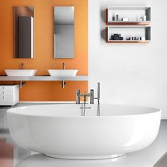 Clearwater Puro Freestanding Clearstone Bath