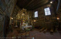 Painted wooden church in Binarowa.        UNESCO World Heritage List, Poland