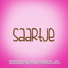 Saartje  (Voor meer inspiratie, en unieke geboortekaartjes kijk op www.heyboyheygirl.nl)