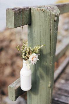 Hanging Flowers / Victoria & Jesse's Bohemian Australian Wedding / LANE (instagram: the_lane)