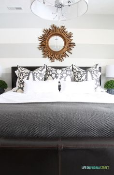 The 58 Week Guest Room Makeover & Diy Designer Pillows
