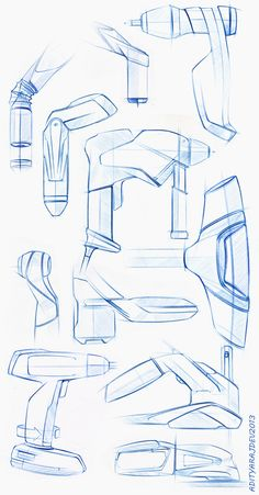 product design - sketches & renders on Behance - https://www.behance.net/gallery/9158377/product-design-sketches-renders