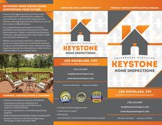 Business Card Inspector New Free Brochure And Designs Keystone Home Inspections