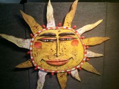 Sunny Daze are here again!  FOLK ART SUN  by Jim Lambert - Hillsborough NH