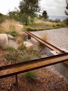 Landscape Architecture, Landscape Design, Garden Design, Modern Landscaping, Backyard Landscaping, Casa San Sebastian, Australian Native Garden, Design Jardin, Water Element