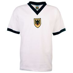 Picture of West Germany 1972 Olympics White Retro Football Shirt