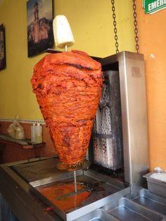 Los Deliciosos Tacos al Pastor Orizaba Veracruz.