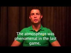 Thanks from Cristiano!