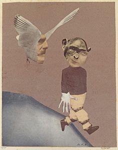 Hannah Höch, Flight, 1931