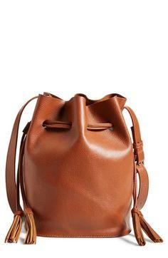 0eb12eb576 Street Level Faux Leather Bucket Bag, $31.90 via @AOL_Lifestyle Read more:…  Tassel