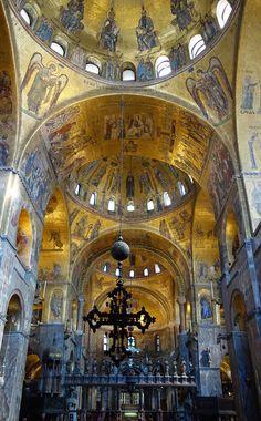 Nave, Saint Mark's Basilica, Venice.
