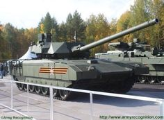 After have been officially unveiled during Russia's 9 May Victory Day Parade in Moscow, the T-14 Armata main battle tank undoubtedly represented a new era in the conception of MBTs, being the first truly new tank design created in Russia since the famous T-72. Along with the brand new T-15 and 2S35, the T-14 Armata is officially showed for the first time in an exhibition at 2015 Russian Arms Expo.
