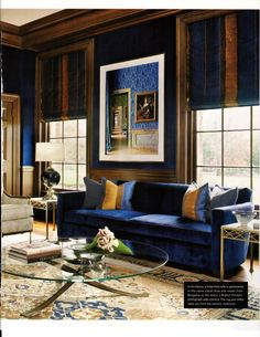 Stately Appeal l Luxe Magazine l Fall 2014 l Carmina Roth Interiors