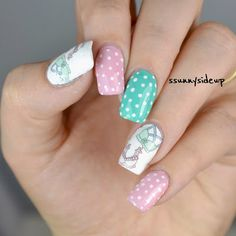 ssunnysideup: [REVIEW] Dresses and bikini water decals by bornprettystore for your nails