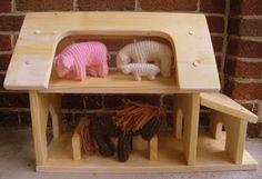 Play house.