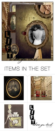 """""""Museum Studies"""" by halebugg ❤ liked on Polyvore featuring art, dragonfly, architecture, portrait, photograph, painting, oval frame, museum, ornate frame and wasp"""