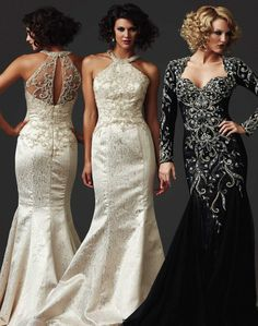A dress with such elegance, and allure! MAC DUGGAL Style: 80271D www.bridaldreamsmall.com