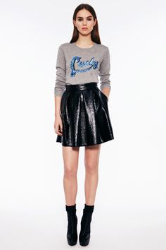 Fall/Winter 2013 Trend: leather skirts