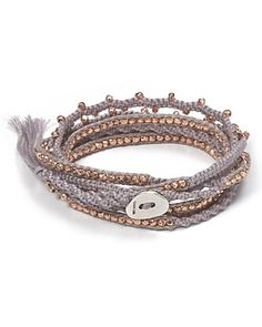 Love the wrap bracelets