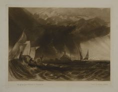 The Felucca, - Turner Date unknown