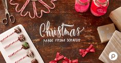 Publix presents Christmas Made From Scratch. Find inspiration and how-tos for DIY holiday recipes, gifts, and decorations to add a personal touch to the season.