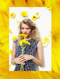 Nasty Gal Tripping Daisies spring 2013