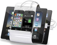 4 port USB Charging Station